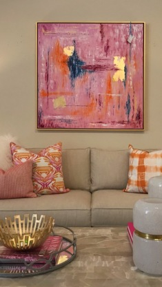 """45x45"""" Frame included 